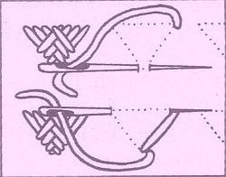 Trojúhelníčky s křížením