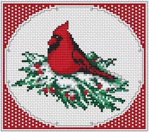 Vánoční ptáček