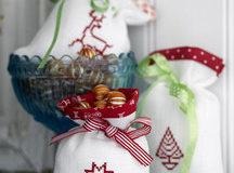 Jednoduché vánoční výšivky