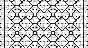 Černé vyšívání – jednoduché vzory