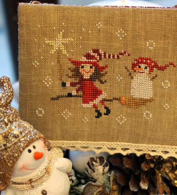 Vánoční pohádková výšivka