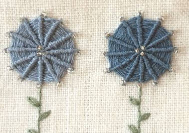 Ukázka tkané pavučinky