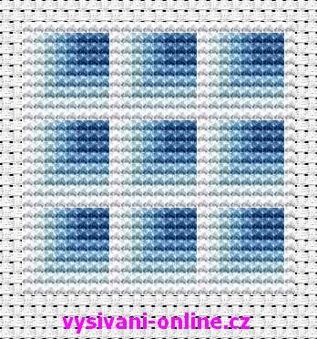 Modré čtverce